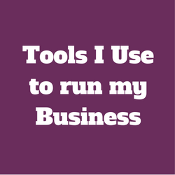 Tools I use to run my business
